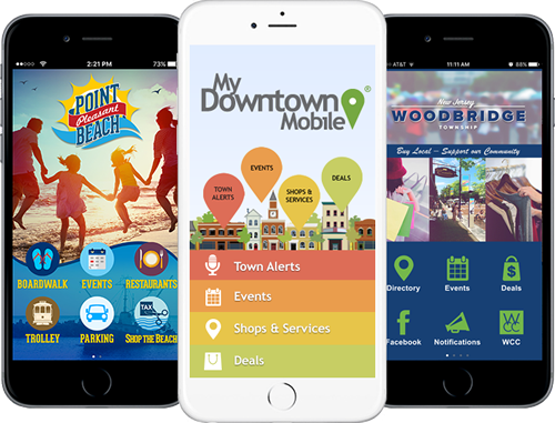 MyDowntown Mobile Sample Apps